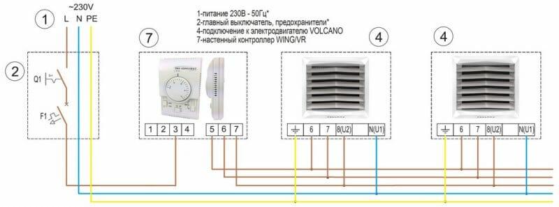 Схема підключення до нашого регулятора